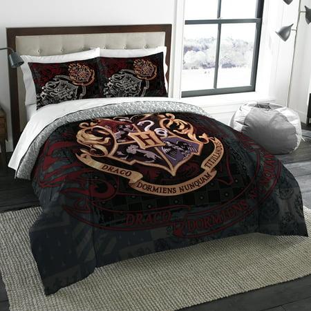Harry Potter School Motto Twin Full Bedding Comforter Set