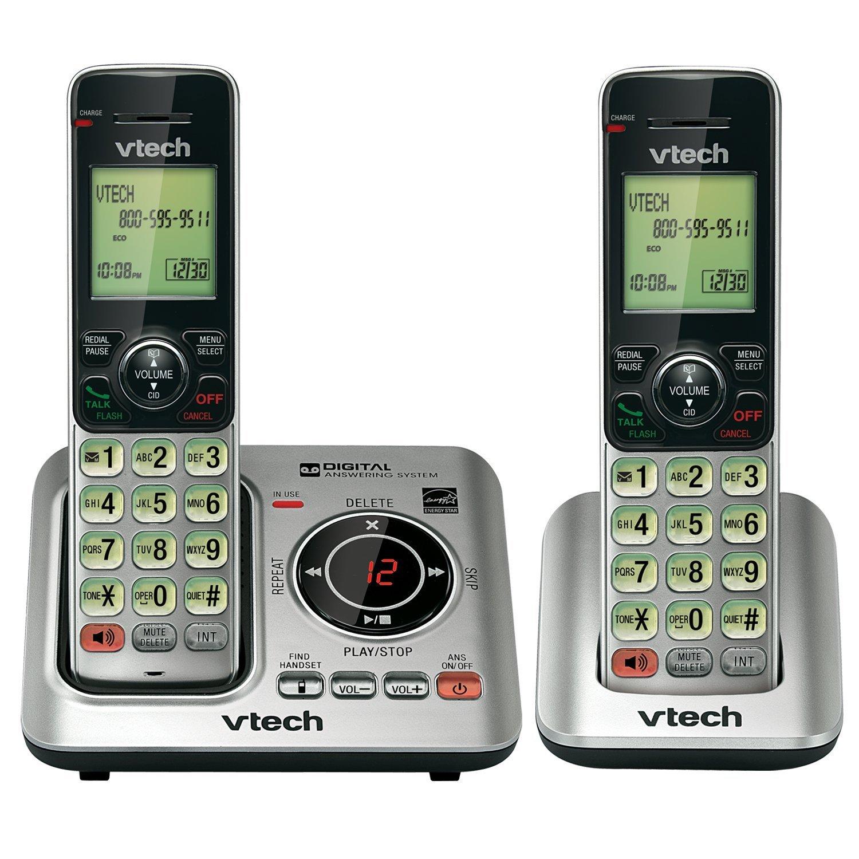 Handset Phone, Vtech Cs66292 2-handset Cordless Home Handset Landline Phone