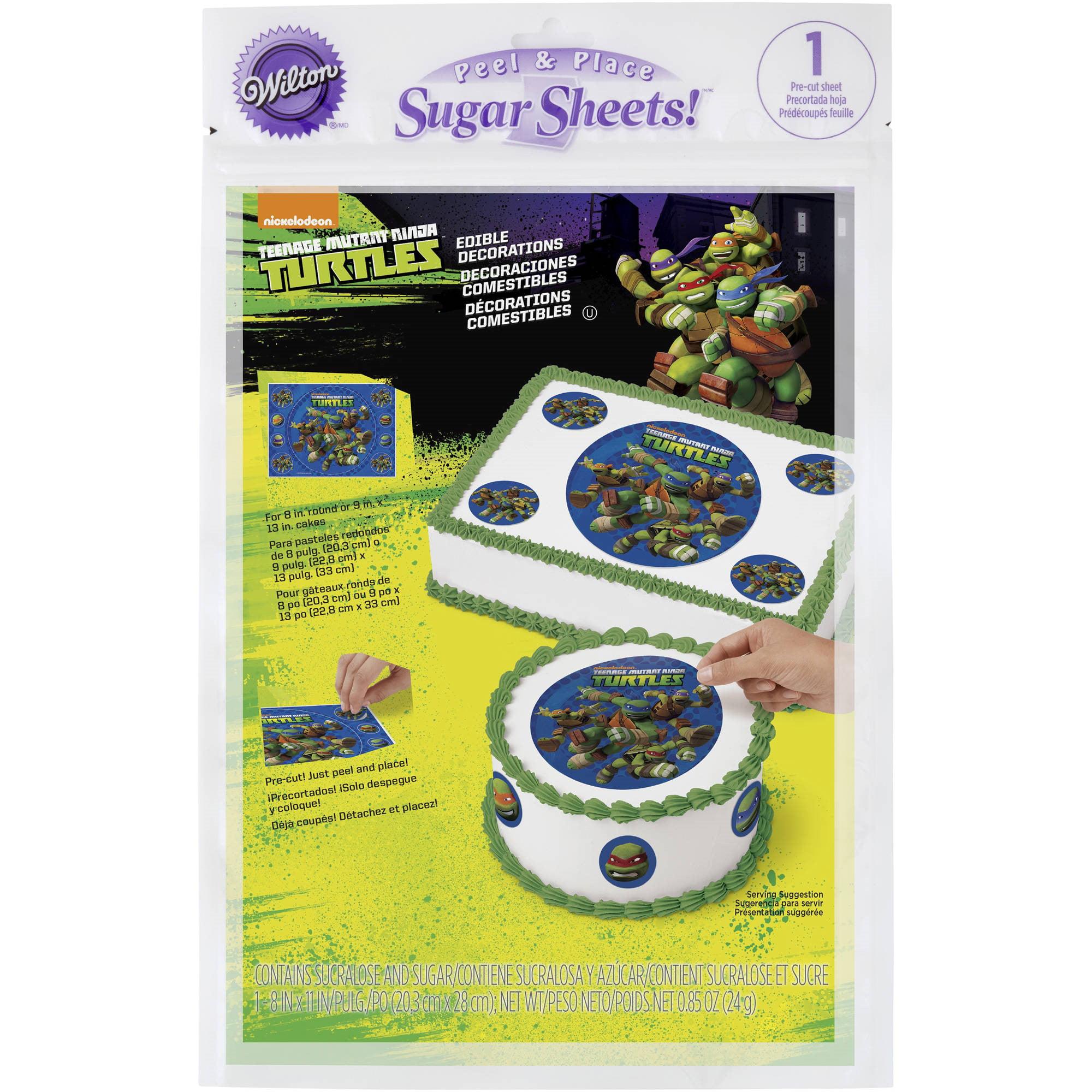 Teenage Mutant Ninja Turtles Sugar Sheets