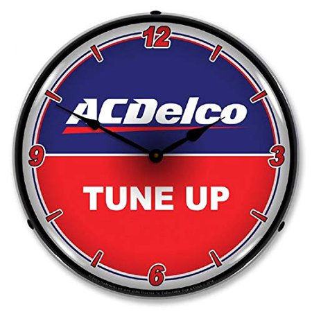 AC Delco Tune Up Red Blue Logo Wall Clock 14