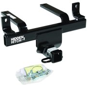 Hidden Hitch 87407 Class III/IV; Receiver Trailer Hitch; Rear; 2 in. Receiver; 3500 lb. Gross Trailer Weight/4000 lb. Weight Distributing; 350 lb. Tongue Weight/400 lb. Weight Distributing; Black;