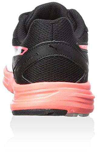 PUMA Women's Descendant V3 Sneaker, Black/Coral, 6.5 B US