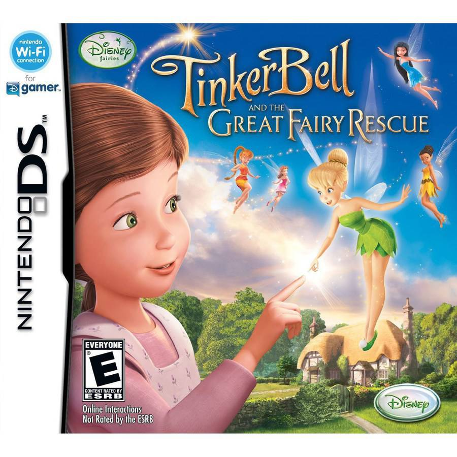 Disney Fairies Tinkerbell and the Great Fairy Rescue (DS) - Pre-Owned