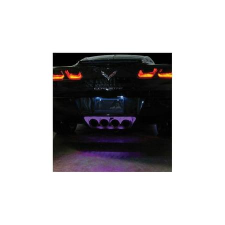 C7 Corvette - Exhaust LED Lighting Kit : Stingray, Z51, Z06 (Purple Super -