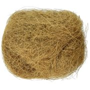 BPV105 Sterilized Natural Coconut Fiber for Bird Nest, Coco bed nest material used for nest building and hiding out By Prevue Pet Products