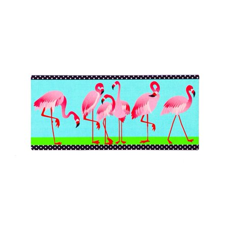 Evergreen Sassafras Switch Mat - Flamingo Garden ()