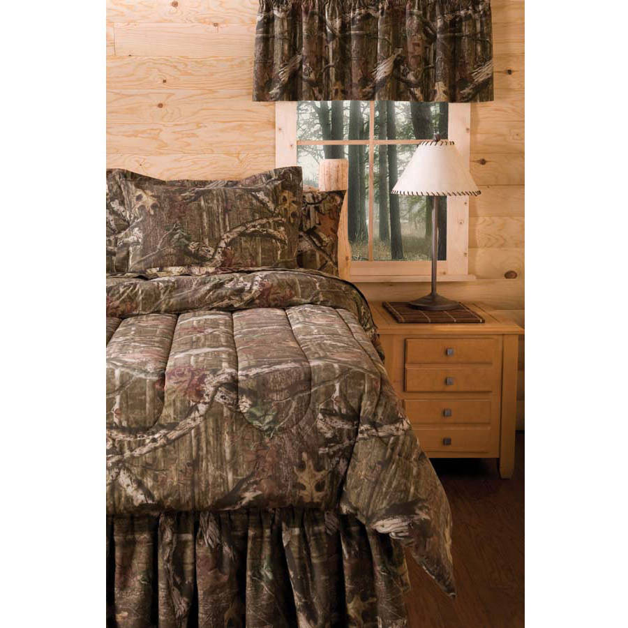 Realtree Bedding Comforter Set Walmartcom - Black and grey camouflage comforter set