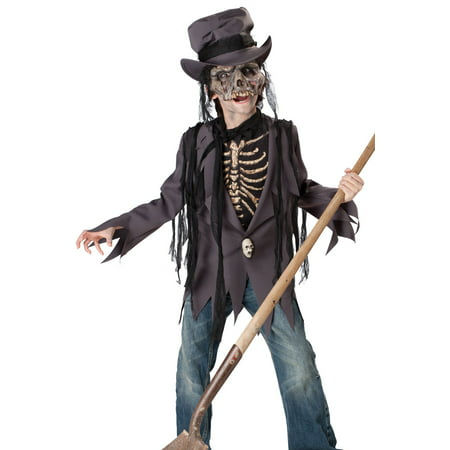 In Character Kids Boys Scary Zombie Skeleton Halloween Costume - Scary Female Characters For Halloween