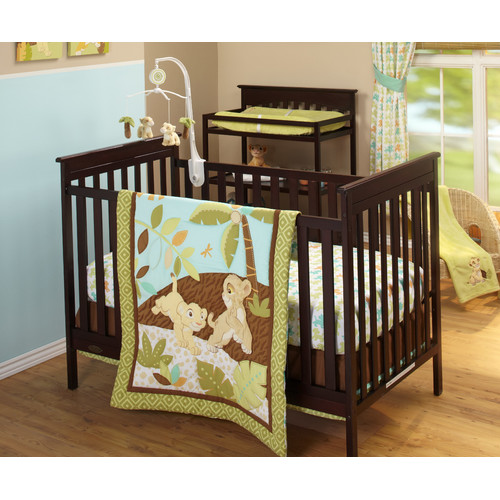Disney Lion King Born Cuddly 3pc Crib Set