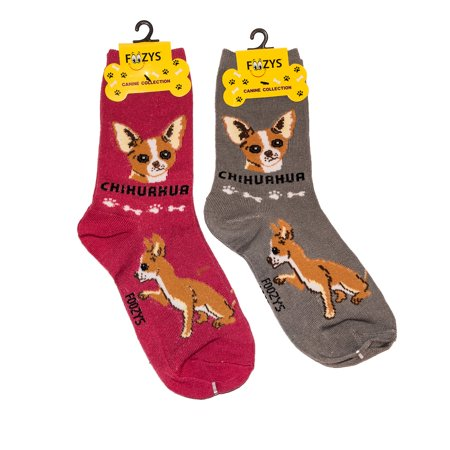 Foozys Unisex Crew Socks Canine Collection
