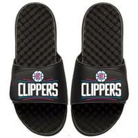 Men's Black LA Clippers Primary iSlide Sandals