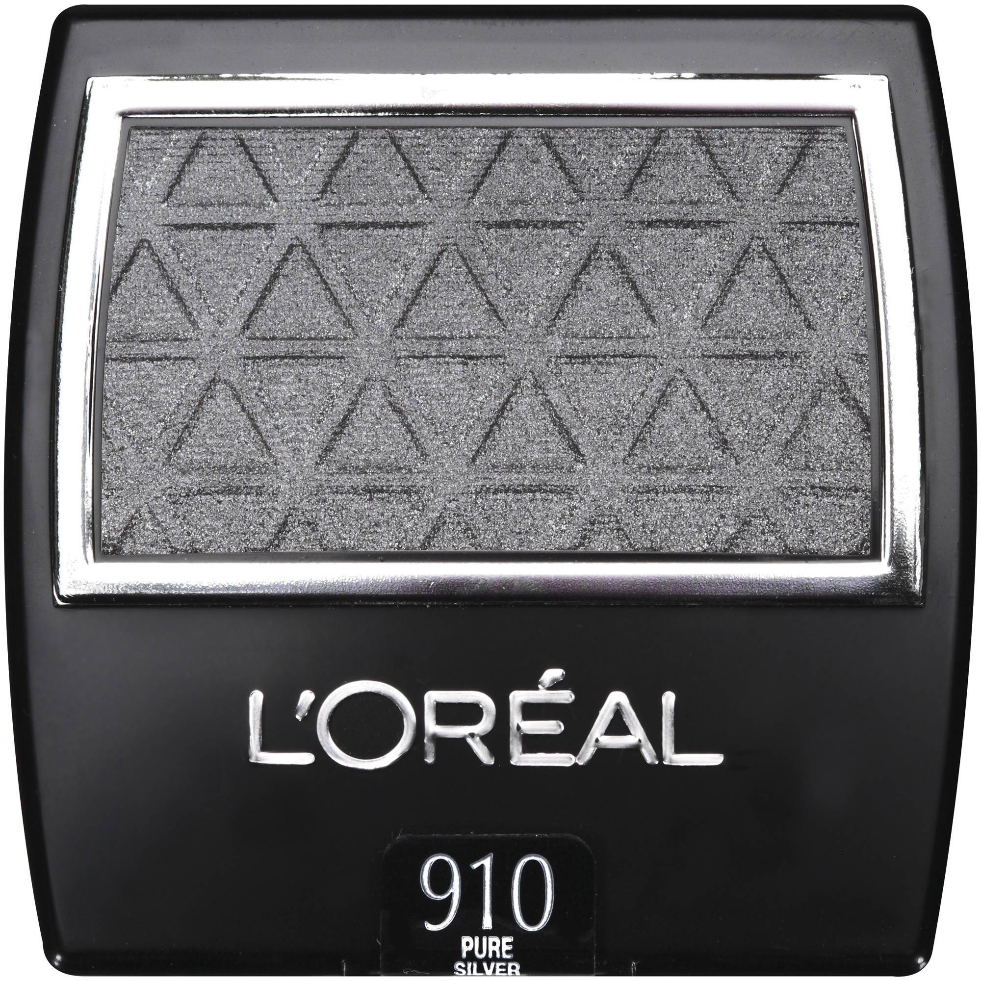 L'Oreal Paris Wear Infinite Eye Shadow, 910 Pure Silver, 0.1 oz
