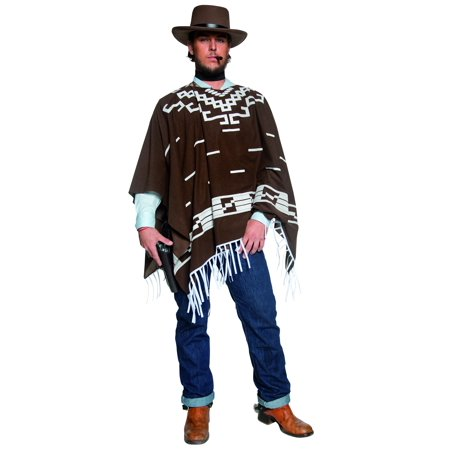 Authentic Western Wandering Gunman Costume, Large - Western Outlaw Costume