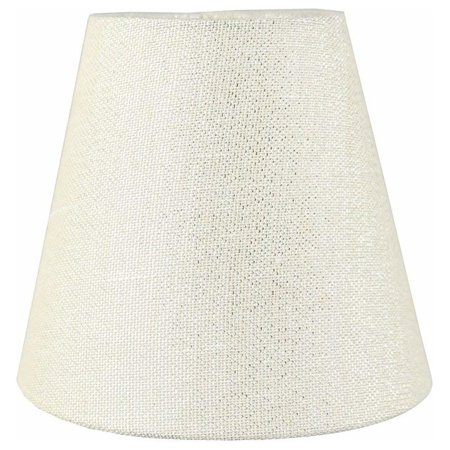 "Urbanest 3x5x4.5"" Chandelier Shade, Metallic Cream"