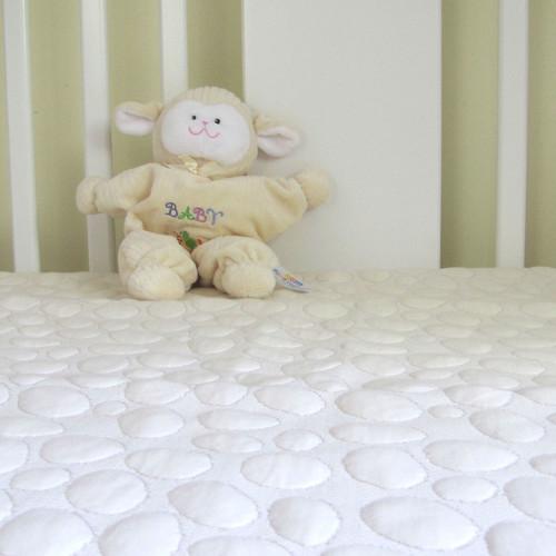 Dream Decor Greenzone Smooth Tencel Natural Fiber Crib Mattress Protector