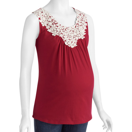 Concepts Maternity Embellished Tank