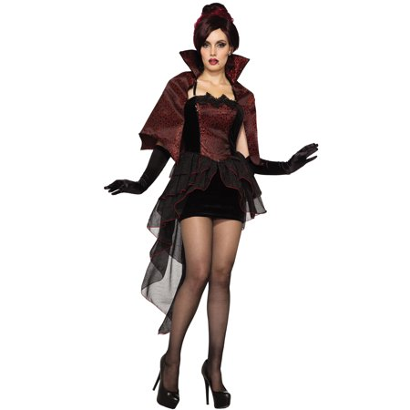 Vampire Womens Costume (Vampire Seductress Womens Adult Countess Halloween)