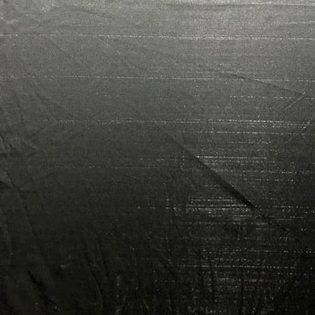 Black Pinstripe Micro Mesh, Fabric By the Yard
