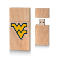 West Virginia Mountaineers Insignia 16gb Wood Block USB Drive