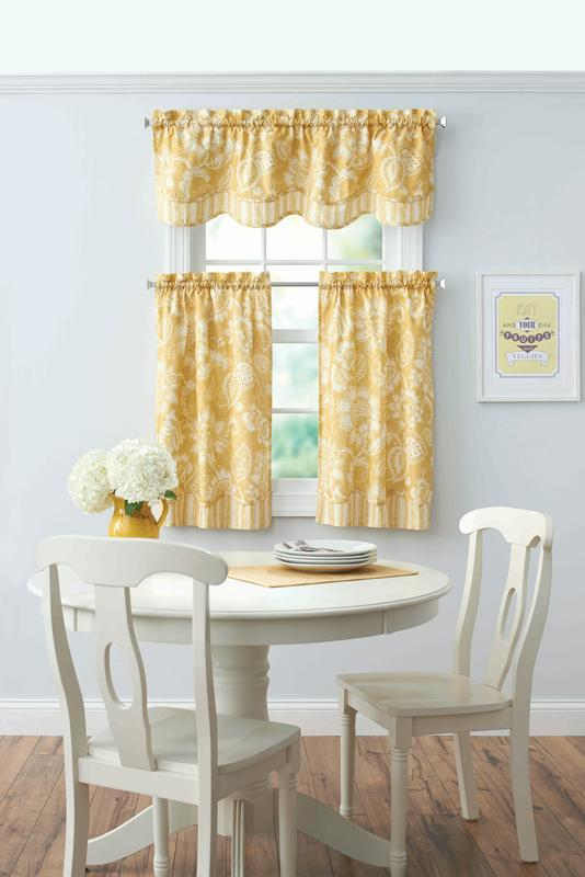 Better Homes & Gardens Botanical Gardens Valance by Keeco