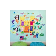 Oopsy Daisy Mermaids Peel and Place Wall Decal