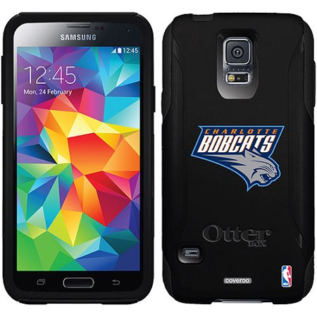 Charlotte Bobcats Design on OtterBox Commuter Series Case for Samsung Galaxy S5 by