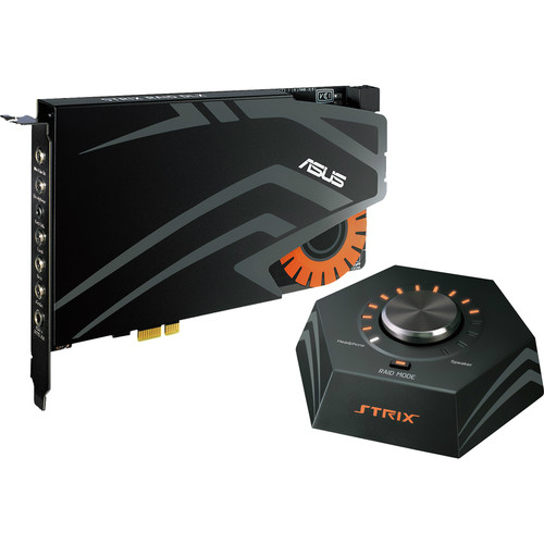 Strix Raid DLX 7.1 PCI Express Sound Card