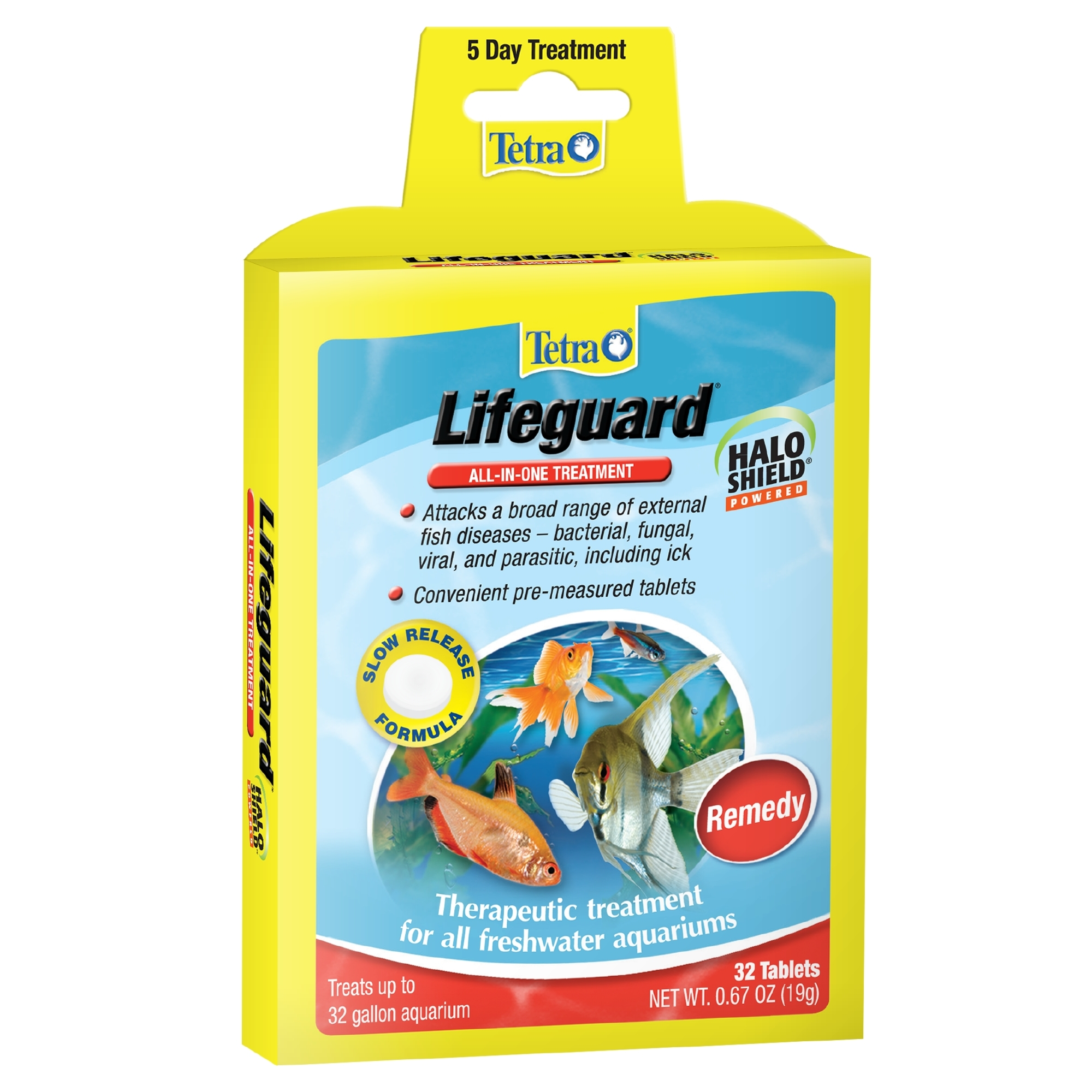 Tetra LifeGuard All-In-One Treatment Tablets, 32-Count