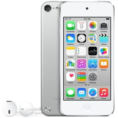 Apple ipod Touch Silver 16GB Dual Camera (5th GEN) Like New