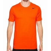 Nike NEW Orange Mens Size XL Dri-Fit Crewneck Short-Sleeve Tee T-Shirt 280