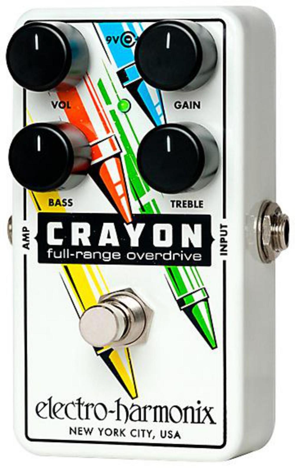 Electro-Harmonix CRAYON Full Range Overdrive 76 by Electro-Harmonix