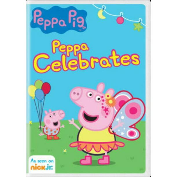 Peppa Pig Peppa Celebrates Dvd Walmart Com Walmart Com
