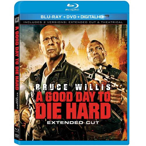 A Good Day To Die Hard (Blu-ray + DVD + Digital HD) (With INSTAWATCH) (Widescreen)