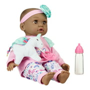 My Sweet Love Sweet Baby Doll Toy Set, African American, 4 Pieces
