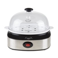 Classic Cuisine Multi-Function Electric Egg Cooker with 7 Egg Capacity and Automatic Shut Off
