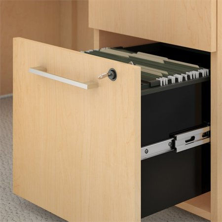 Move 60 Series Height Adjustable Standing Desk with Storage in Maple - image 3 of 7