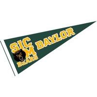 "Baylor Bears Sic Em 12"" X 30"" Felt College Pennant"
