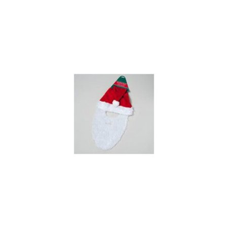 SANTA HAT WITH BEARD - Santa Claus Hat And Beard