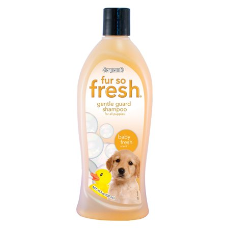 Sergeants Pet Care - Sergeants 03803 18 oz Baby Powder Fur So Fresh Puppy Shampoo