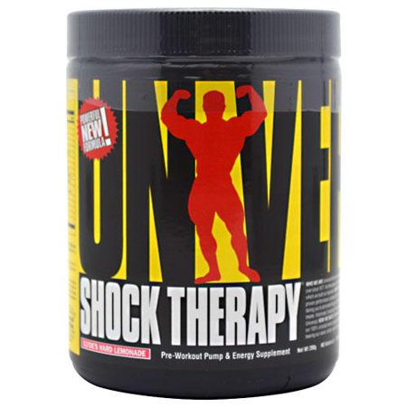 Universal Nutrition Shock Therapy, Clyde's Hard Lemonade, 20