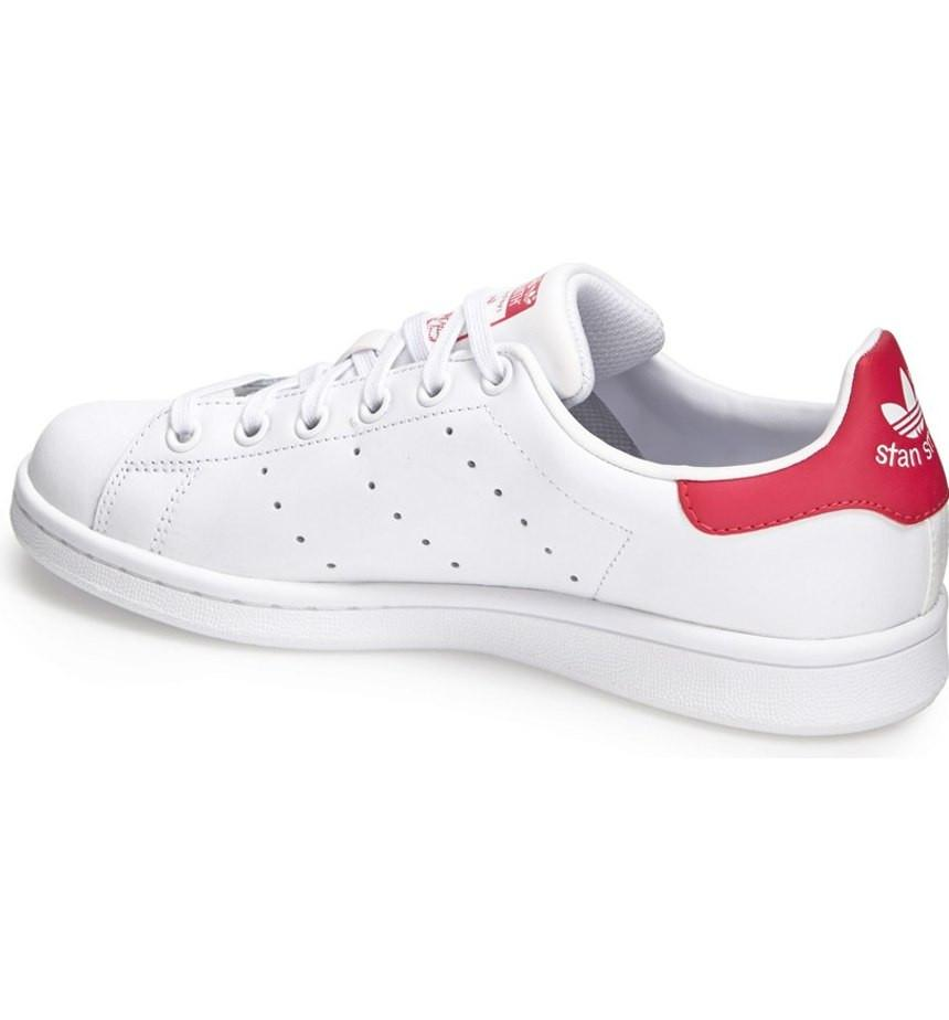 B32703 - STAN SMITH J 6 / WHITE_PINK