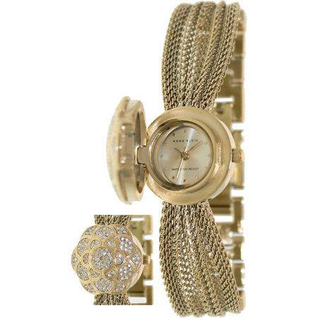Women's AK-1046CHCV Gold Metal Swiss Quartz Fashion Watch