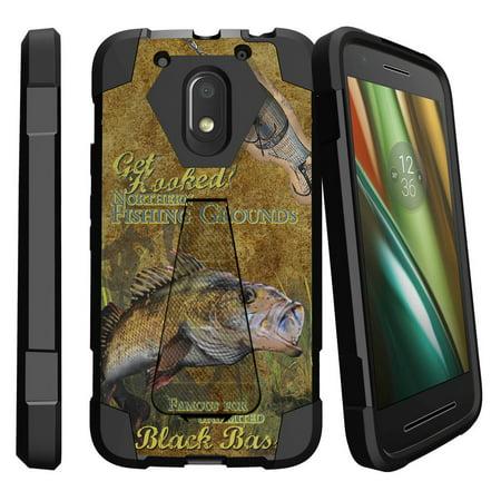 Motorola Moto E3 Case   Moto E 3rd Gen XT1700 Case  [Shock Fusion] Dual Layer Case with Built In Kickstand - Big Game - 3rd Grade Halloween Game Ideas