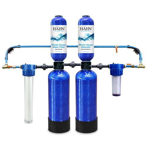 Hahn Whole House Water Filtration System and Descaler