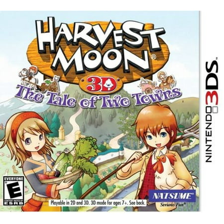 Nintendo 3DS - Harvest Moon: Tale of Two Towns (Harvest Moon Friends Of Mineral Town Codebreaker)