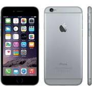 Apple iPhone 6 Plus 64GB Unlocked GSM iOS Smart Phone Black Silver Gold (Space Gray/Black) Seller Refurbished