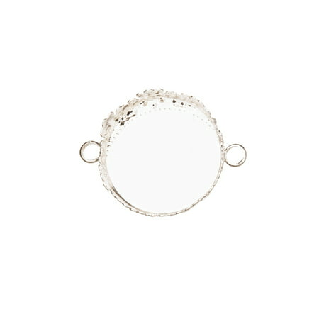Round photo pendant frame / Bezel Cup Connector Silver Plated With Serrated Edge Fits 20mm Cabochons Or Photos Or Flat-Backed Crystal Sold per pkg of 6pcs](Cut And Paste Halloween Crafts)