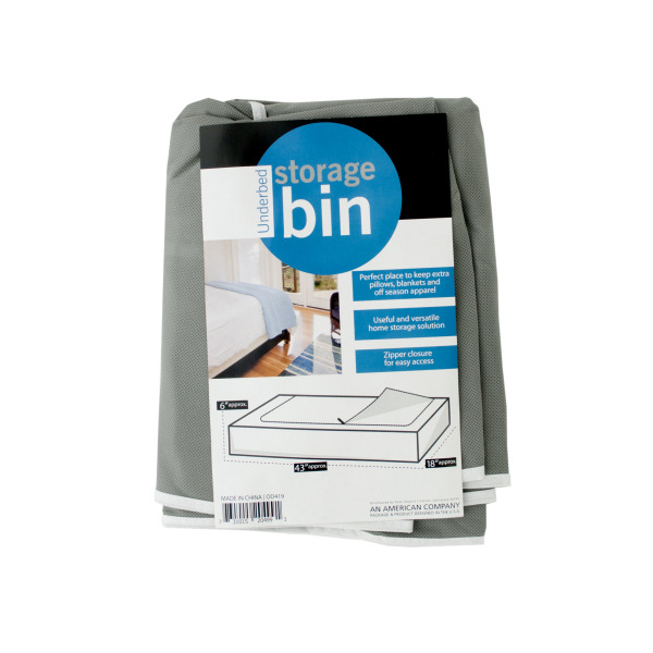 Underbed Storage Bin (Pack Of 4)