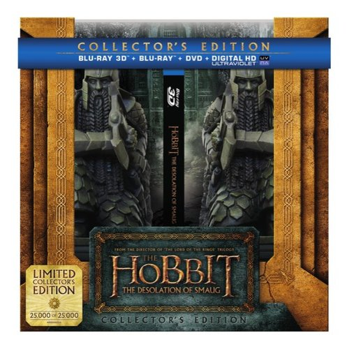 The Hobbit: The Desolation Of Smaug (Limited Collector's Edition) (3D Blu-ray + Blu-ray + DVD + Digital HD) (Widescreen)