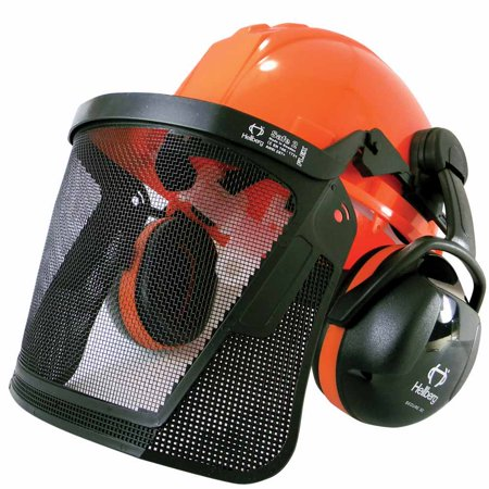 Laser 47109 Professional Chainsaw Safety Helmet with Ear Muffs 6 Point Ratchet